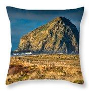 Cape Mendocino Throw Pillow