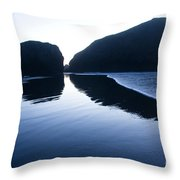 Cape Sebastian Throw Pillow