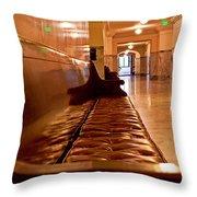 Capital Halls Throw Pillow