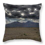 Capitan Clouds Throw Pillow