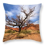 Capitol Tree Throw Pillow