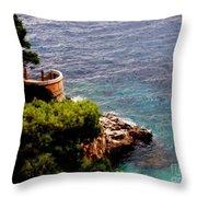 Capri  6 Throw Pillow