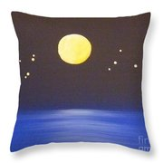 Capricorn And Libra Throw Pillow by Alys Caviness-Gober