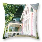 Captain Harris House Memphis Throw Pillow