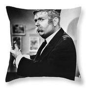 Captain Kangaroo, C1955 Throw Pillow by Granger