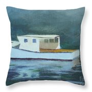 Captain Tom Throw Pillow