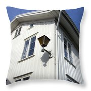Captain's House Throw Pillow