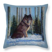 Captured By The Light Throw Pillow by Billie Colson