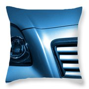 Car Face Throw Pillow