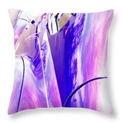 Car Reflections Throw Pillow