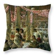 Caracalla And Geta Throw Pillow