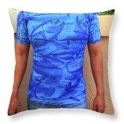 Carey Chen Performance Shirt Throw Pillow