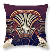 Carillonais Throw Pillow