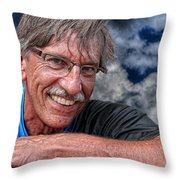 Carl - No Make That Mark Throw Pillow
