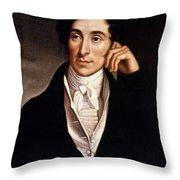 Carl Maria Von Weber Throw Pillow by Granger
