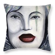 Carnival 3 Throw Pillow