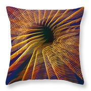 Carnival Abstract Lights Throw Pillow