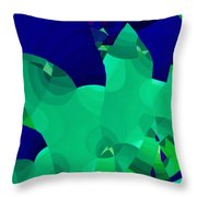 Carnivale 3 Throw Pillow