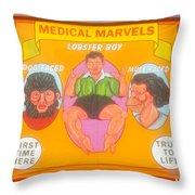 Carnval Art Number 2 Throw Pillow