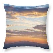 Carolina Sunset Throw Pillow