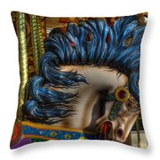 Carousel Beauty Star Of The Show Throw Pillow