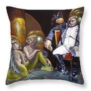 Carpoleon Bonafish Throw Pillow