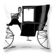 Carriage: Brougham Throw Pillow