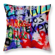 Carrickkildavnet, Achill Island, Co Throw Pillow