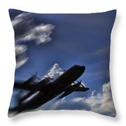 Carrying A Heavy Load Throw Pillow