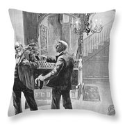 Carter Henry Harrison Throw Pillow by Granger