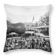 Carter Inauguration, 1977 Throw Pillow