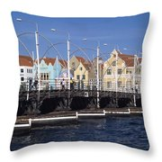 Casa Amarilla And Buildings On Throw Pillow by Axiom Photographic