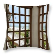 Casa Del Laplaya Throw Pillow