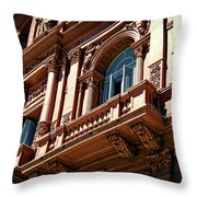 Casa Rosada Throw Pillow