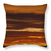Cascade Mountains Sunrise 2 Throw Pillow
