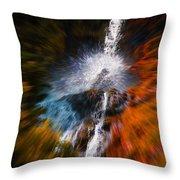 Cascade Waterfall Throw Pillow