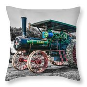 Case Tractor Throw Pillow