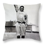 Casey Stengel (1891-1975) Throw Pillow by Granger