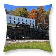 Cass Railway Wv Painted Throw Pillow