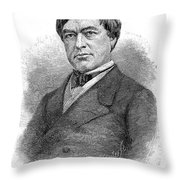 Cassius Clay (1810-1903) Throw Pillow