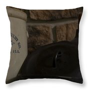 Cast And Crock 1 Throw Pillow