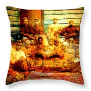 Cast Into The Wind Throw Pillow