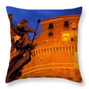 Castel Sant Angelo Throw Pillow
