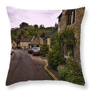 Castle Combe Throw Pillow