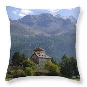 Castle Crap Da Sass Throw Pillow