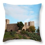 Castle In Sunlight Throw Pillow