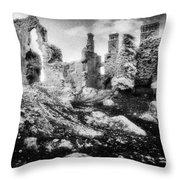 Castle Lyons Throw Pillow