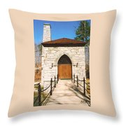 Castle Mcculloch Throw Pillow