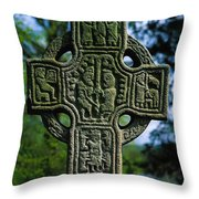 Castledermot, Co Kildare, Ireland North Throw Pillow