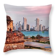Castles Made Of Sand Throw Pillow by Skip Hunt
